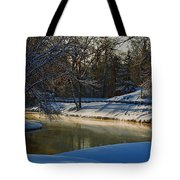 The River Bend Tote Bag
