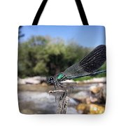 The River Dragonfly Tote Bag