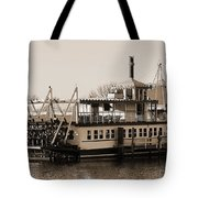 The River Lady Toms River New Jersey Tote Bag
