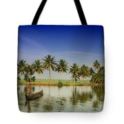 The River Man Tote Bag