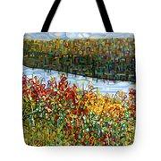 The River Tote Bag by Mandy Budan