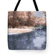 The River - Near Infrared Tote Bag