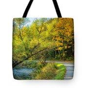 The River Road Curve Tote Bag