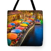 The Riverwalk Tote Bag by Inge Johnsson