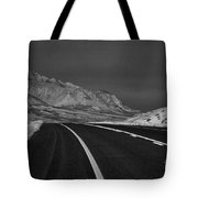 The Road Ahead-infrared Tote Bag