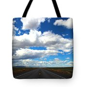 The Road Goes On Tote Bag
