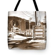 The Road To Farmington Pilot Knob Missouri Tote Bag