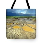 Bumpy Road To Khovd Tote Bag