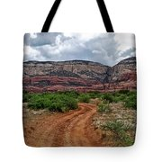 The Road To Possibilities Tote Bag