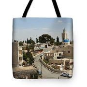 The Road To St. George Ruins Tote Bag