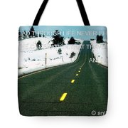 The Road Travel Tote Bag
