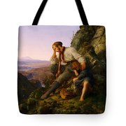 The Robber And His Child Tote Bag