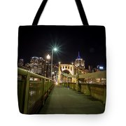 The Roberto Clemente Bridge Tote Bag