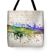 The Rock Tote Bag by Aged Pixel