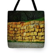 The Rock Wall Tote Bag