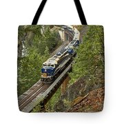 The Rocky Mountaineer Tote Bag