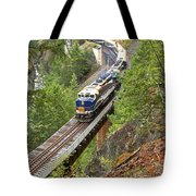 The Rocky Mountaineer Railroad Tote Bag