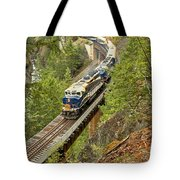 The Rocky Mountaineer Train Tote Bag
