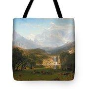 The Rocky Mountains Landers Peak Tote Bag