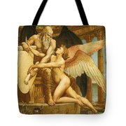 The Roll Of Fate Tote Bag by Walter Crane