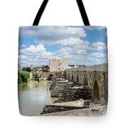 The Roman Bridge Of Cordoba  Tote Bag