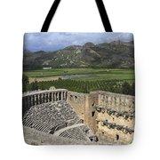 The Roman Theatre In Aspendos Antalya Turkey  Tote Bag