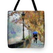 The Romantic Stroll Tote Bag