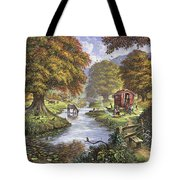 The Romany Camp Tote Bag