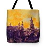 The Roofs Of Lublin Tote Bag
