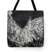 The Rooster - Oil Painting Tote Bag