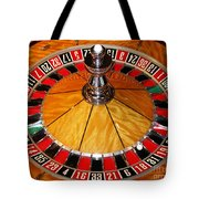 The Roulette Wheel Tote Bag