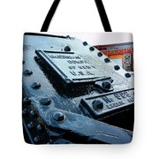 The Roundhouse Evanston Wyoming - 3 Tote Bag