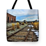 The Roundhouse Evanston Wyoming - 5 Tote Bag