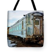 The Roundhouse Evanston Wyoming Dining Car - 1 Tote Bag