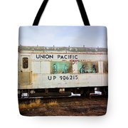 The Roundhouse Evanston Wyoming Dining Car - 5 Tote Bag