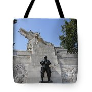The Royal Artillery War Memorial By Charles Sargeant Jagger And Lionel Pearson In London England Tote Bag