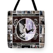 The Royal Connaught Crest Photo Collage Tote Bag
