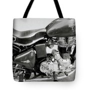 The Royal Enfield Motorbike Tote Bag