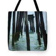 The Ruins Of The 59th Street Pier  Tote Bag