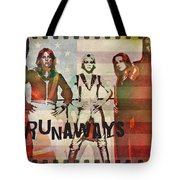 The Runaways - 1977 Tote Bag