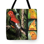 The Rupicola Family Tote Bag