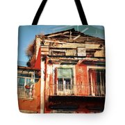 The Rustic Look In Naples Italy Tote Bag
