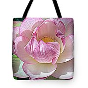 The Sacred Lotus  Tote Bag