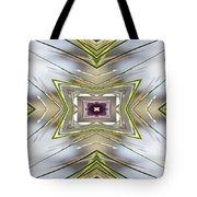 The Sacred Pine Mandala Yantra Tote Bag