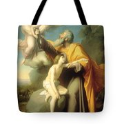 The Sacrifice Of Isaac Tote Bag