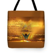 The Sacrifice Of Praise Tote Bag