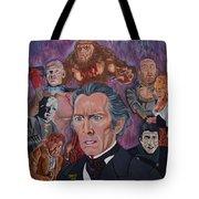 The Saga Of Frankenstein Tote Bag