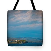 The Sagamore Hotel On Beautiful Lake George Tote Bag
