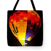 The Saguaro Balloon  Tote Bag