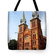 The Saigon Notre-dame Basilica Tote Bag